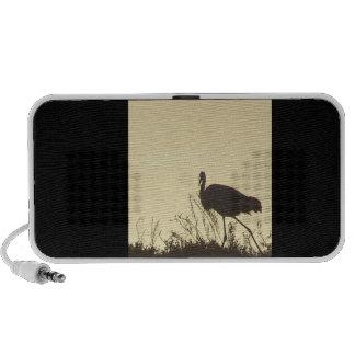 Egret at Dawn Doodle Speaker