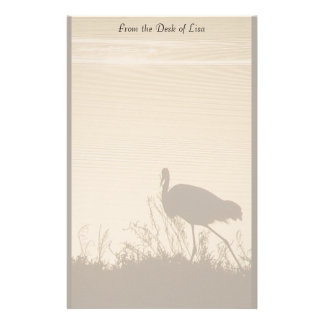Egret at Dawn Stationery