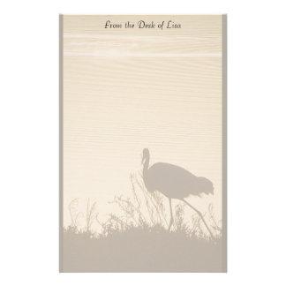 Egret at Dawn Stationery