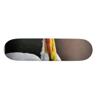 Egret Bird Animal Skate Decks