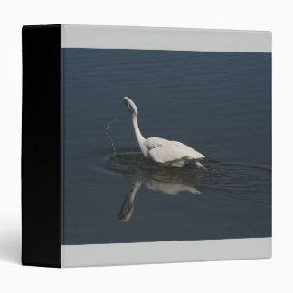 Egret Birds Wildlife Animal Photography Binder