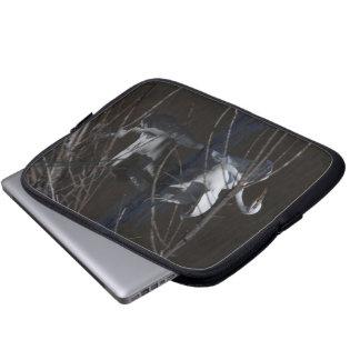 Egret Birds Wildlife Animal Photography Laptop Sleeve
