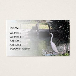 Egret Business Card