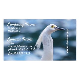 Egret Business Cards