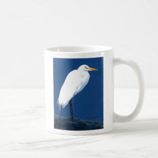Egret by Cindy Agan Mugs