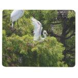 Egret en un árbol cuaderno