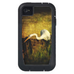 Egret Fishing Tough Extreme Case iPhone4 Case