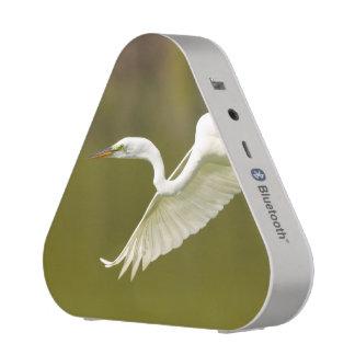 egret in flight bluetooth speaker