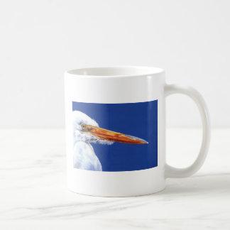 Egret in Profile by Cindy Agan Coffee Mug