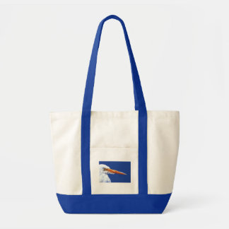 Egret in Profile by Cindy Agan Tote Bag