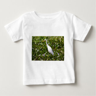 Egret in the Grass Baby T-Shirt