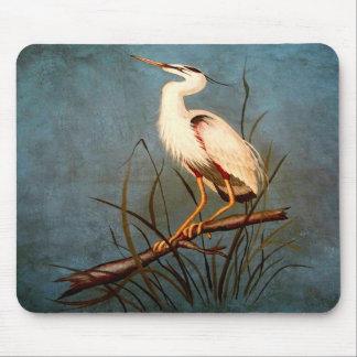 Egret Mousepad
