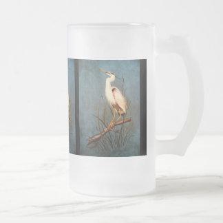 Egret Coffee Mugs