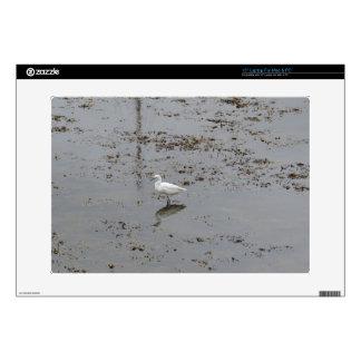 Egret nevado portátil 38,1cm skins