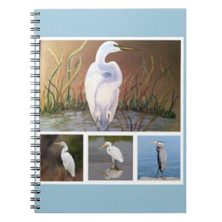 egret painting and other photos from Google Notebook