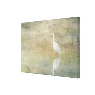 Egret reflector lona envuelta para galerias