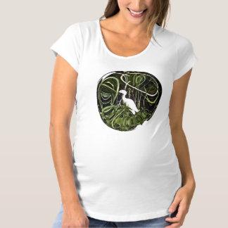 Egret Sphere Maternity T-Shirt