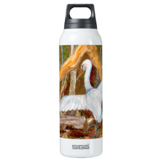 Egret Water Bottle 16 Oz Insulated SIGG Thermos Water Bottle