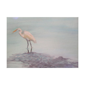 EGRET Wrapped Canvas