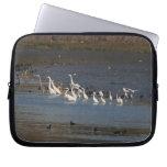 Egrets & Herons Fishing Laptop Sleeve
