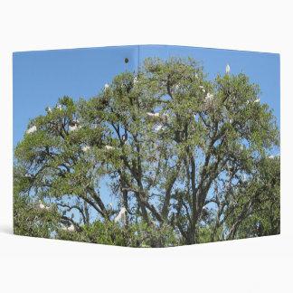 Egrets in a Tree Avery Binder