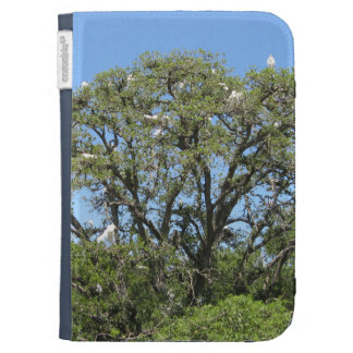 Egrets in a Tree Caseable Case Kindle Folio Cases