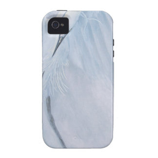 Egrets in love Birds in courtship Case-Mate iPhone 4 Cover