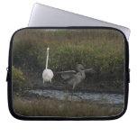 Egrets Laptop Sleeve