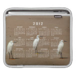 Egrets Loitering on Beach Sleeves For iPads
