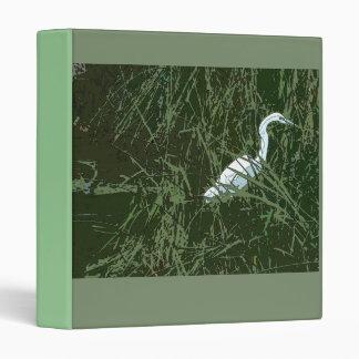 Egrets & Pond Reeds Avery Binder