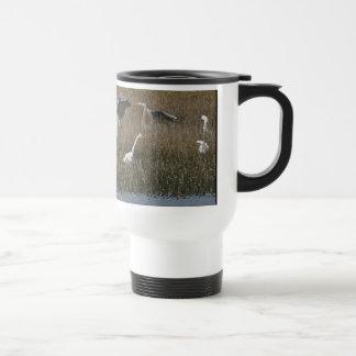 Egrets/taza de las garzas