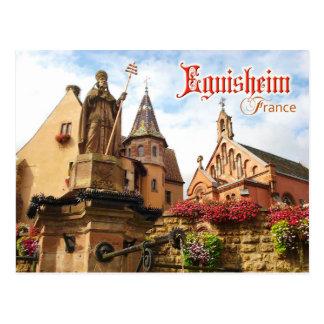 Eguisheim Castle and Pope St Leo IX chapel, France Postcards