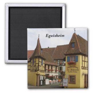Eguisheim - imán cuadrado