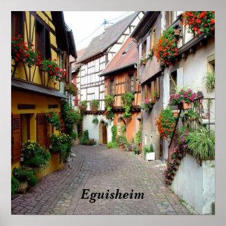 Eguisheim - poster