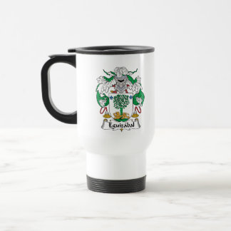 Eguizabal Family Crest Mugs