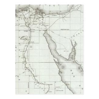 Egyopt y Palestina Tarjeta Postal