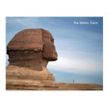 Egypt 055, The Sphinx, Cairo Postcard