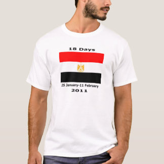 Egypt 18 Days CUART T-Shirt