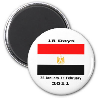 Egypt 18Days CUART Magnet