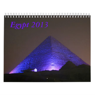 Egypt  2013 calendar