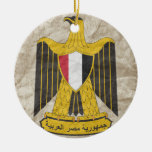 Egypt (2) Double-Sided ceramic round christmas ornament