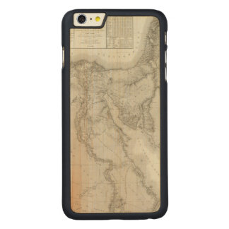 Egypt 8 carved maple iPhone 6 plus case