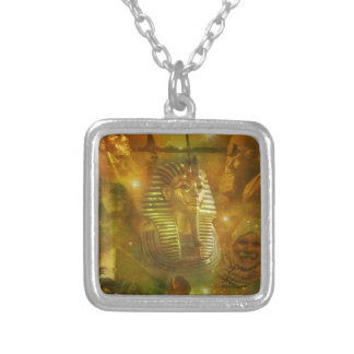Egypt - A Beauty of the Middle East Silver Plated Necklace