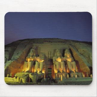 Egypt, Abu Simbel, Colossal figures of Ramesses Mouse Pad