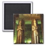 Egypt, Abu Simbel, Statue of Ramesses II, Refrigerator Magnet