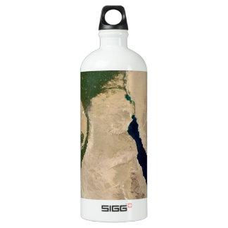 Egypt Aerial View Aluminum Water Bottle