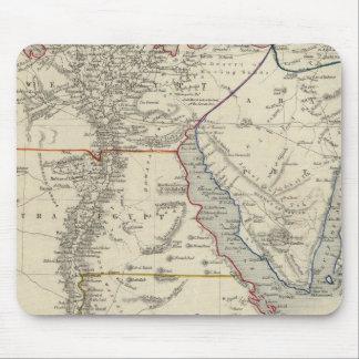 Egypt, And Arabia Petraea Mouse Pad