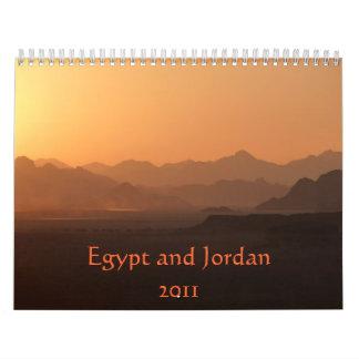 Egypt and Jordan 2011 Calendar