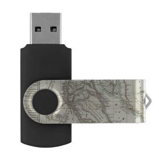 Egypt and Saudi Arabia Swivel USB 2.0 Flash Drive