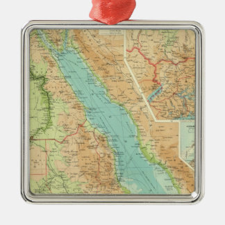 Egypt and the Nile Metal Ornament